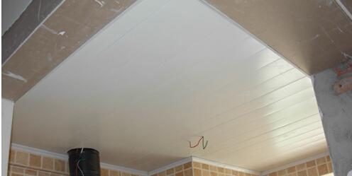 铝扣板集成吊顶开店前景-石膏板和铝扣板集成吊顶