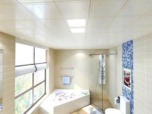铝扣板吊顶款式-书房铝扣板吊顶效果图
