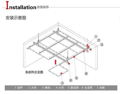 集成吊顶铝扣板系列-铝塑板和铝扣板吊顶的差别