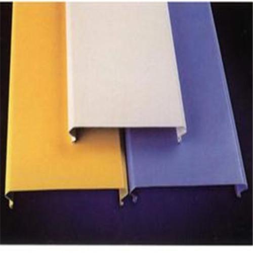 长条铝扣板天花-佛山铝天花厂家讲铝扣板主要应用在哪里