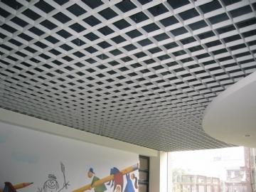 铝扣板吊顶铝吊顶-家居铝制吊顶材料中