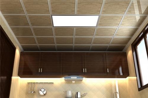 厨房铝扣板品牌有哪些-厨房有必要做吊顶