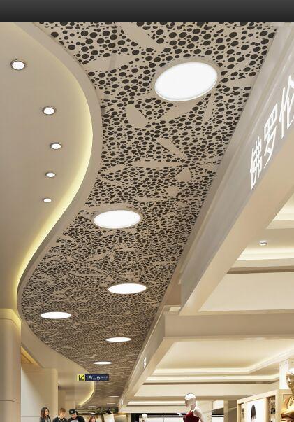 铝扣板厂商-商场铝扣板吊顶怎么装