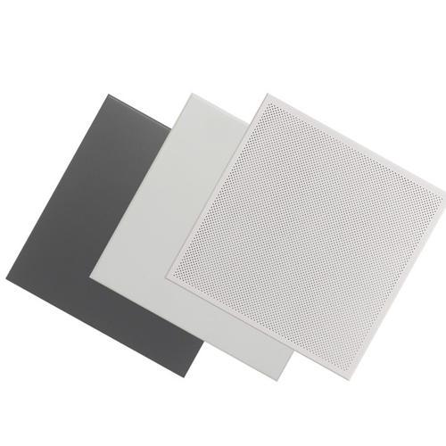 灰色铝扣板图片-听铝扣板生产厂家讲一讲