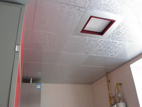 客厅吊顶铝扣板吊顶的图片-铝扣板吊顶怎么拆
