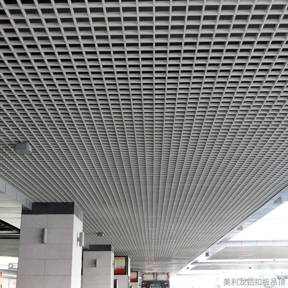 铝格栅安装的要怎么装
