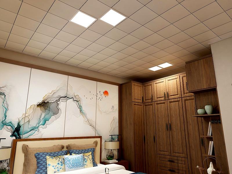 卧室铝扣板吊顶效果图