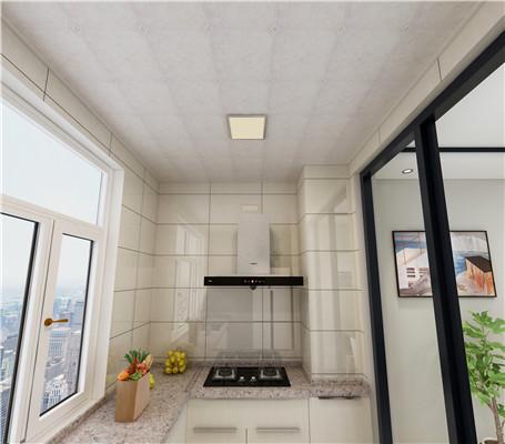 厨房铝扣板吊顶效果图