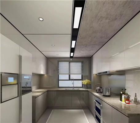 厨房轻奢铝蜂窝板吊顶