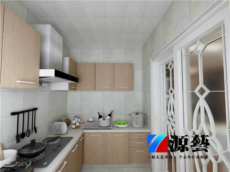 厨房铝扣板吊顶效果