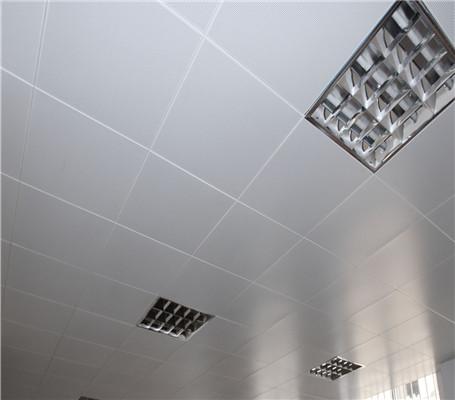 暗架方形铝扣板案例1