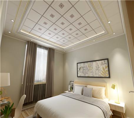 卧室装铝扣板吊顶好看吗?