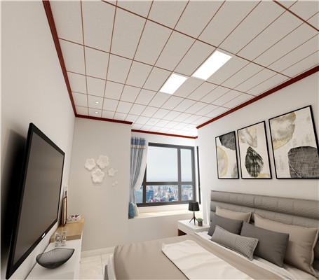 卧室铝扣板吊顶效果图好看吗?