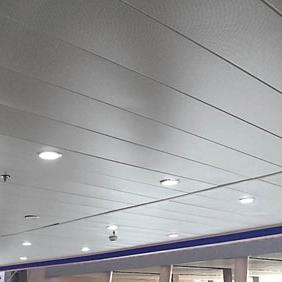 地铁站能用铝扣板吊顶吗?