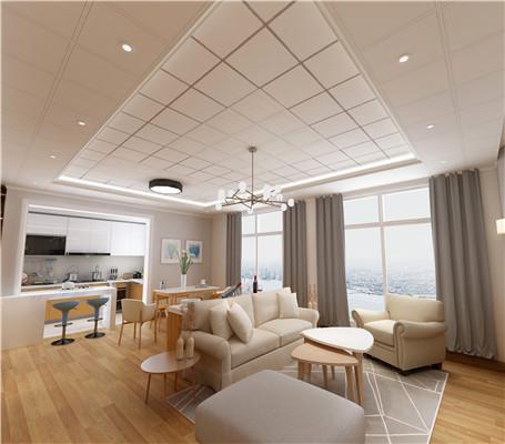 铝天花板开圆洞怎么开?