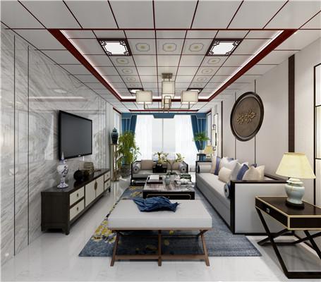450x450中式客厅设计