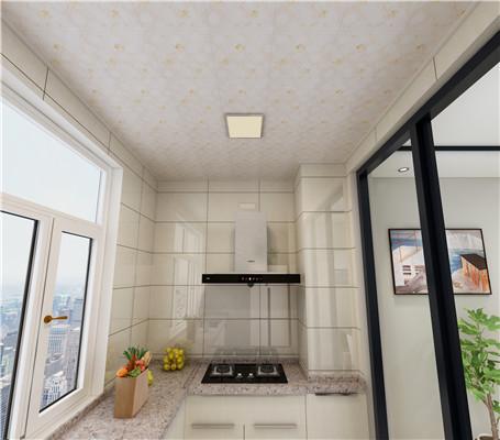 厨房吊顶铝扣板怎么装