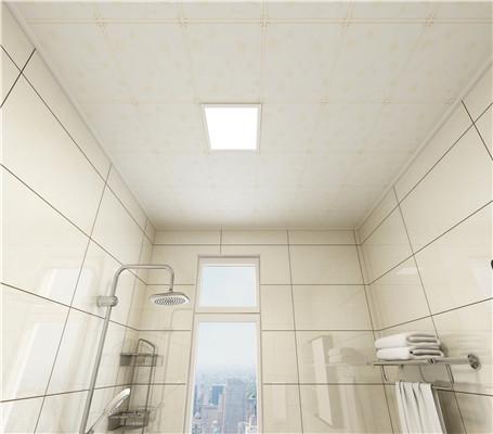 浴室天花板铝扣怎么下?