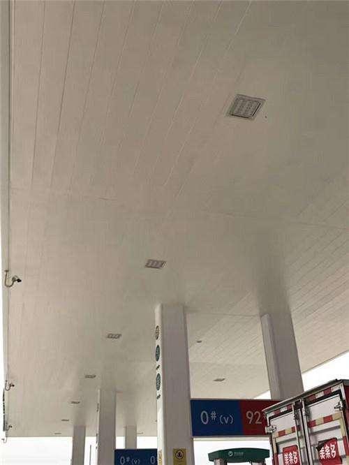 加油站防风铝扣板多少钱一平