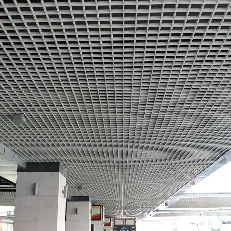铝格栅的施工安装