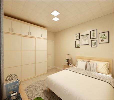 卧室铝扣板吊顶