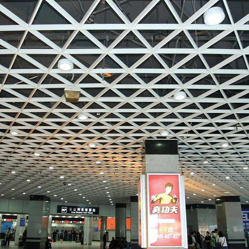 铝天花板吊顶常见种类