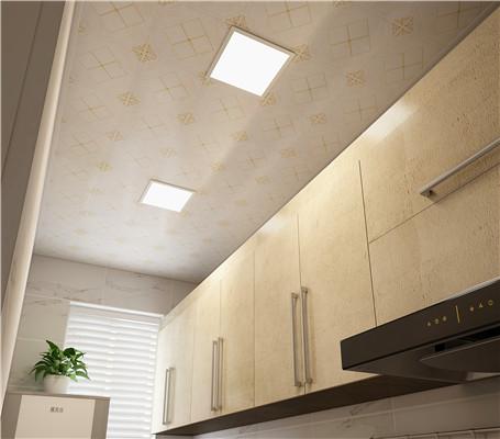 厨房铝扣板吊顶安装