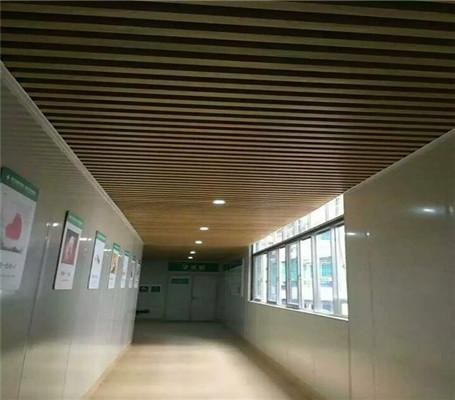 中山铝扣板厂家讲走廊过道吊顶用铝扣板怎么样?