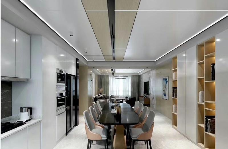 客厅铝蜂窝板厂家讲讲铝蜂窝板优点有哪些!-佛山美利龙