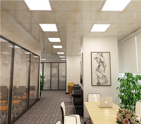 办公室铝天花吊顶好看吗