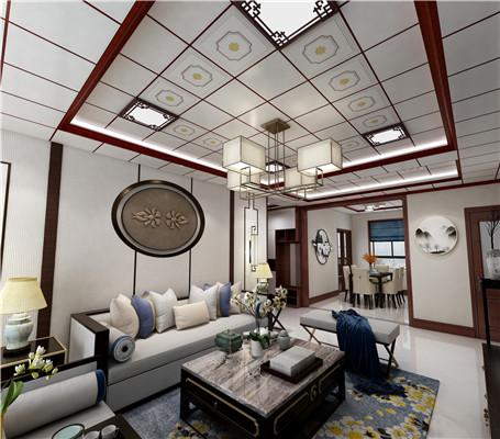 450x450中式客厅设计3