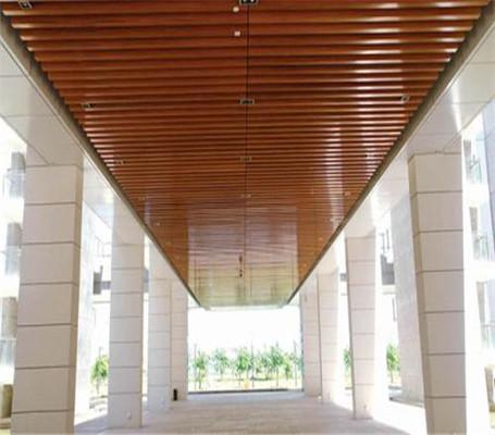 型材铝方通厂家之铝方通吊顶安装一定得注意地方!