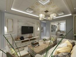 铝扣板吊顶豪宅家装工程案例