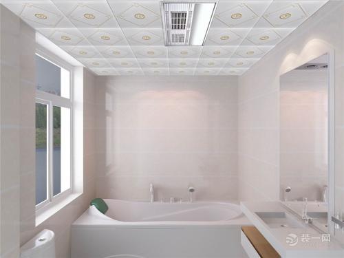 浴室集成吊顶封闭-铝扣板集成吊顶浴霸拆装这些事