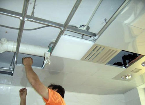 长条集成吊顶怎么-长条铝扣天花板怎么拆