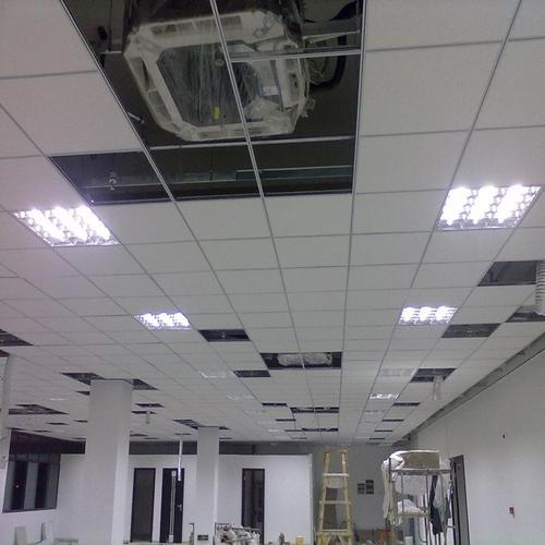 300×600铝扣板效果图-工程专用600*600铝扣板吊顶效果图