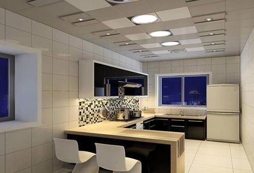 造型吊顶铝扣板都有恰-铝扣板生产厂家提醒集成吊顶铝扣板安装注意这些