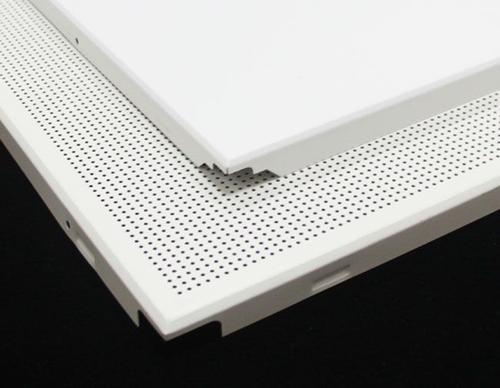 吸音铝扣板吊顶-什么建材防火、吸音降噪效果比较好
