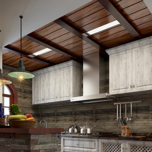 美式风格厨房集成吊顶-中山集成吊顶厂家讲这几点要知道