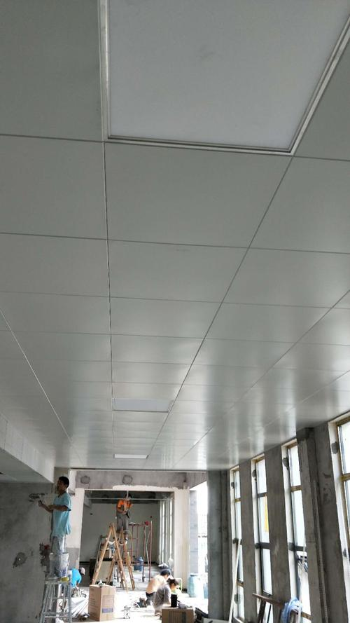 集成吊顶铝扣板生产有限公司-阳江妇幼保健院和佛山美利龙铝扣板吊顶项目合作工程