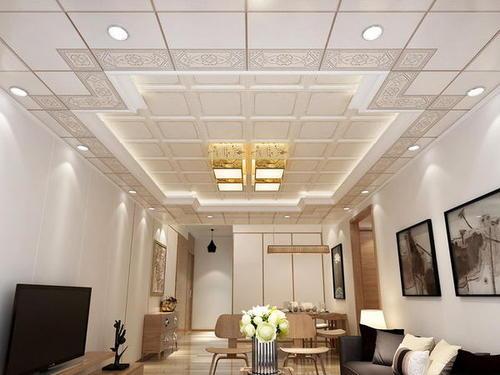 新型环保装饰墙铝扣板材料-天花板装饰材料