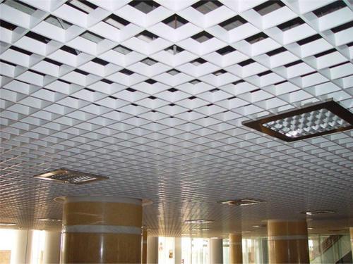 家装集成吊顶整体-铝扣板吊顶豪宅家装工程案例