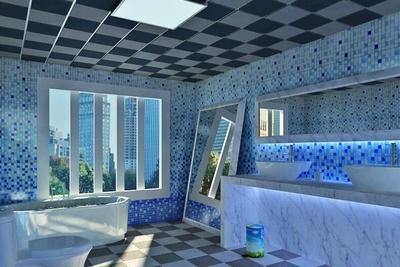 外墙铝扣板的图片大全-卫生间铝扣板吊顶图片大放送