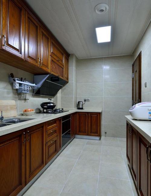 简欧厨房集成吊顶-厨房吊顶有没有必要做