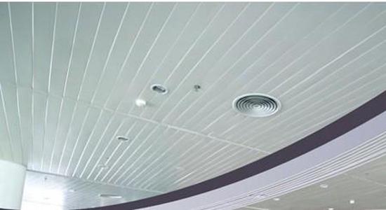 铝合金方板吊顶图片是铝扣板-厨房铝扣板吊顶价格多少