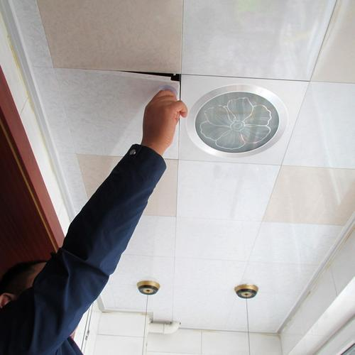 铝扣板吊顶吸风-铝扣板吊顶排风扇