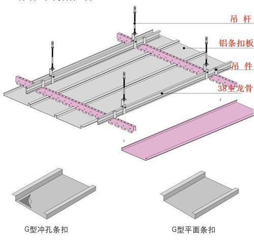 集成铝扣板规格-铝扣板吊顶规格