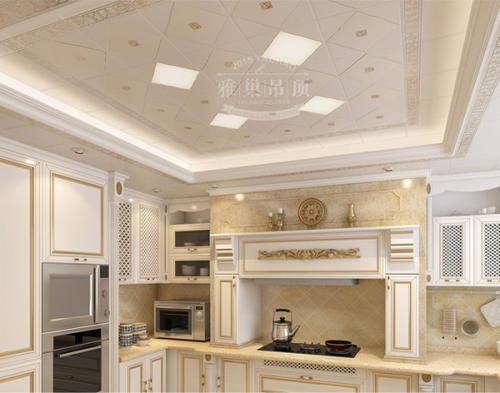 客厅铝扣板图片-客厅铝扣板吊顶厂家给你介绍