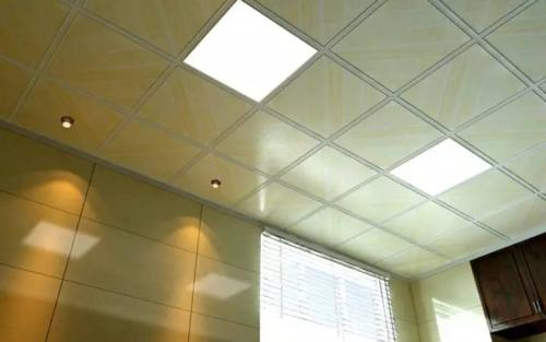 吊铝扣板制作-如何更换铝扣板集成吊顶灯