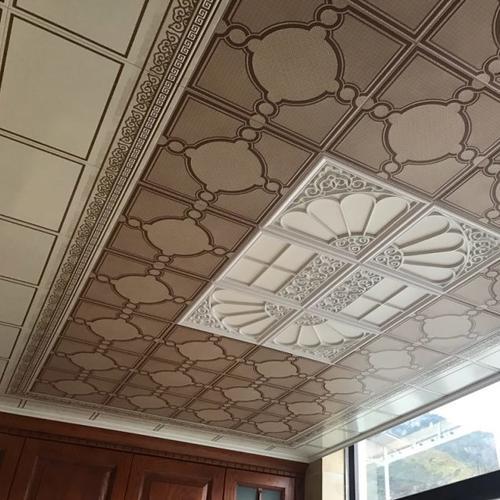 新中式铝扣板吊顶-新中式餐厅吊顶常见原材料